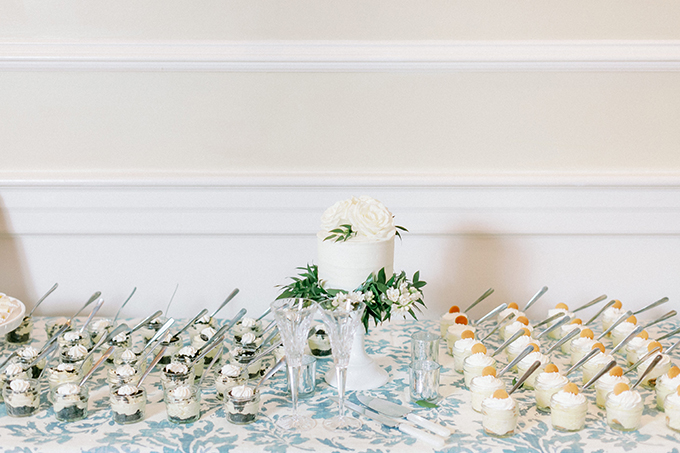 blue and green classic Southern wedding | David Abel Weddings | Glamour & Grace