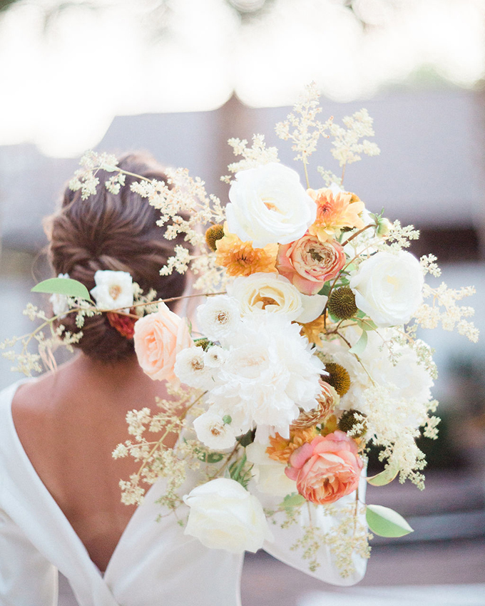 romantic Charleston garden elopement | Judy Nunez Photography | Glamour & Grace