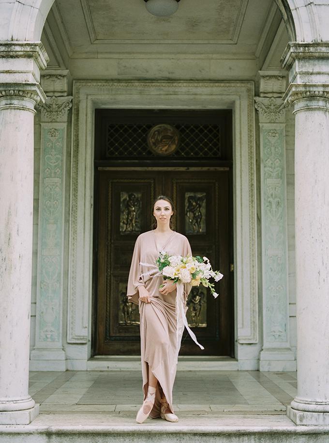 romantic ballet bridal inspiration | Michela Brooke Photography | Glamour & Grace