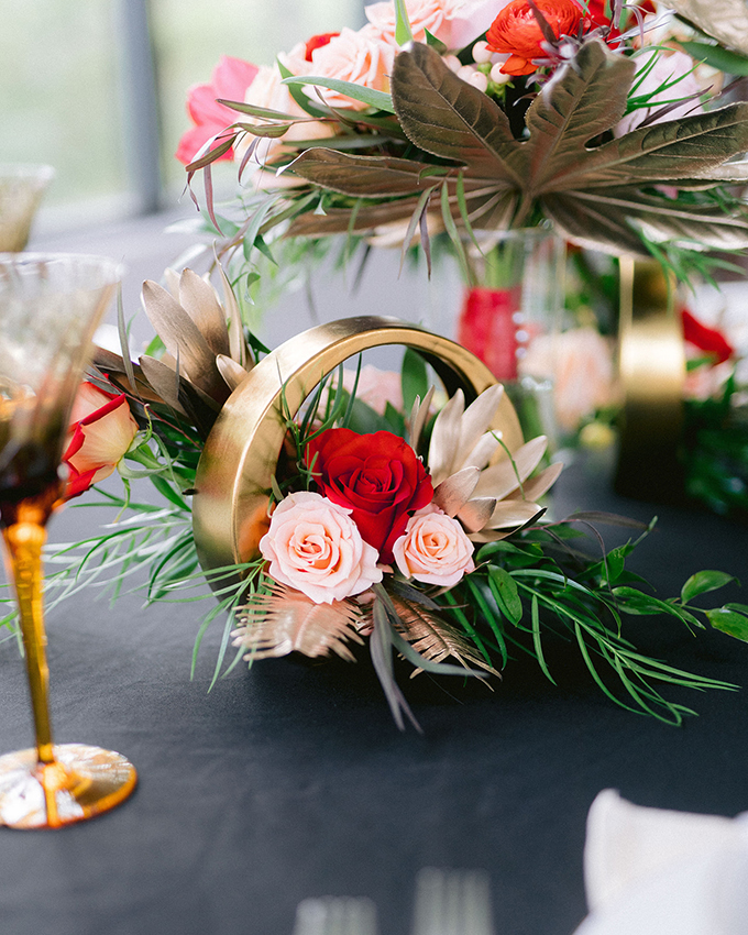 modern elegant winter wedding ideas | Sidney Baker-Green | Glamour & Grace