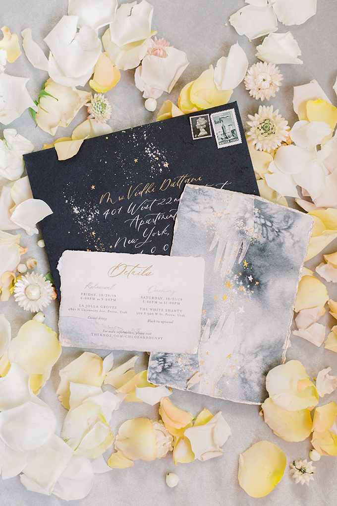 elegant celestial wedding ideas | Moose Studio | Glamour & Grace