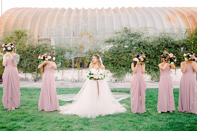 romantic industrial wedding | Kathy Cuadra Photo | Glamour & Grace