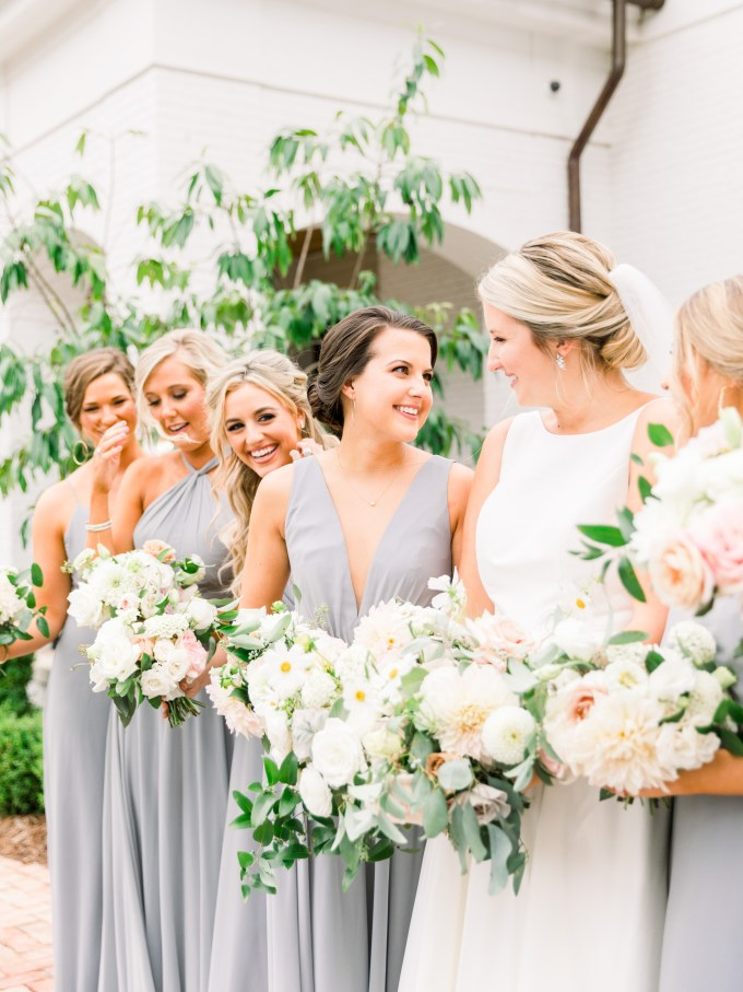 classic blue and gray wedding | Ava Moore Photography | Glamour & Grace