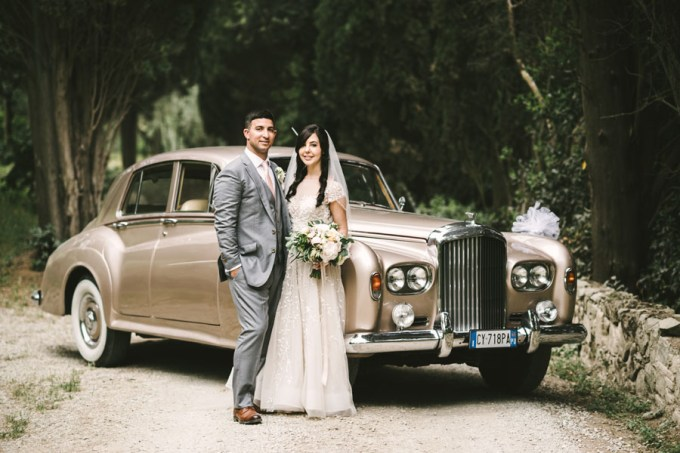 romantic Tuscany destination wedding | Studio Bonon | Glamour & Grace