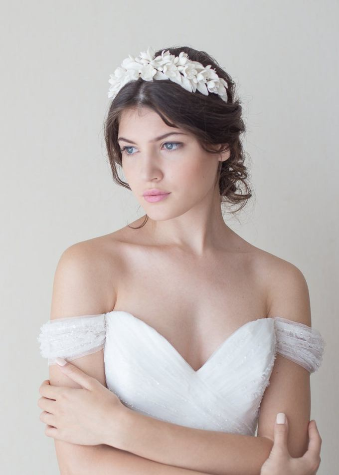Jasmine Blossoms Headpiece
