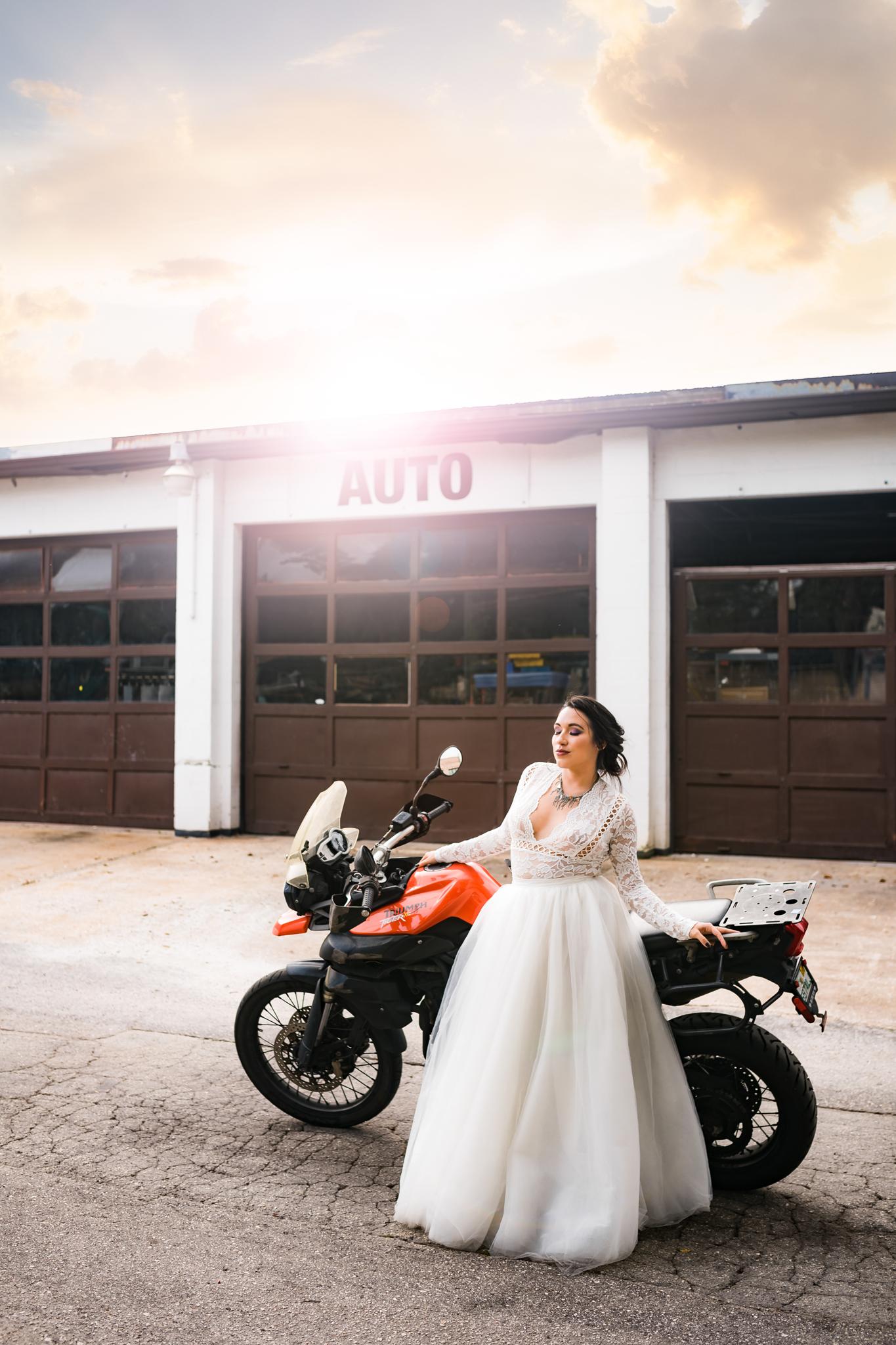 Edgy Bridal Editorial Shoot