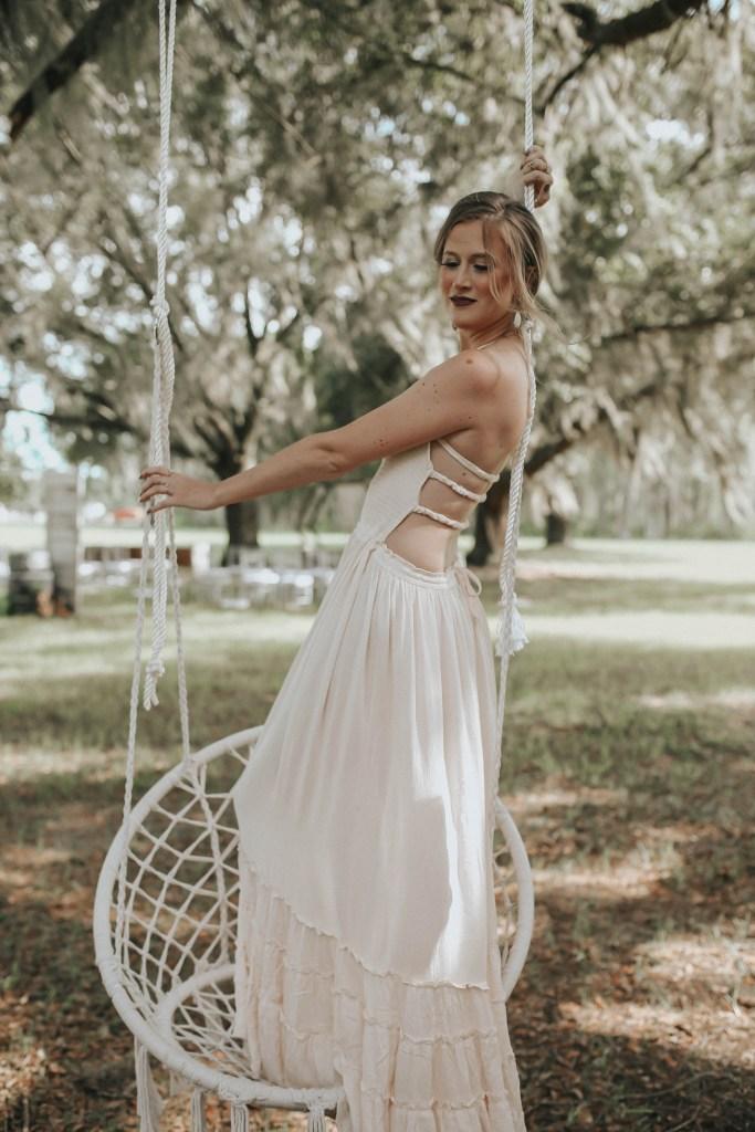 Rentable bridesmaid dress