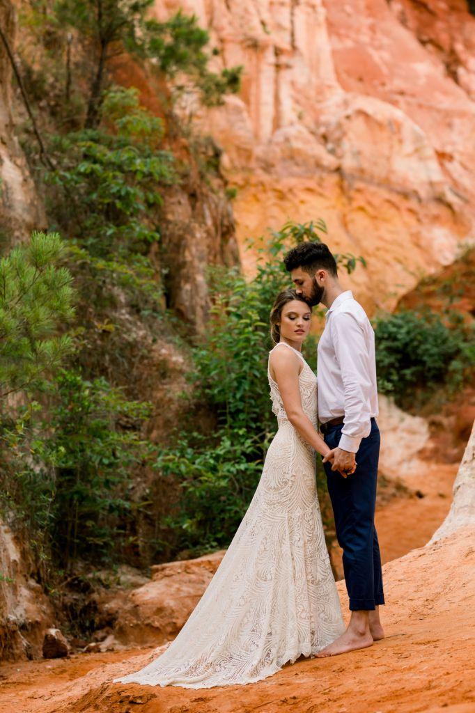little Grand Canyon boho wedding shoot
