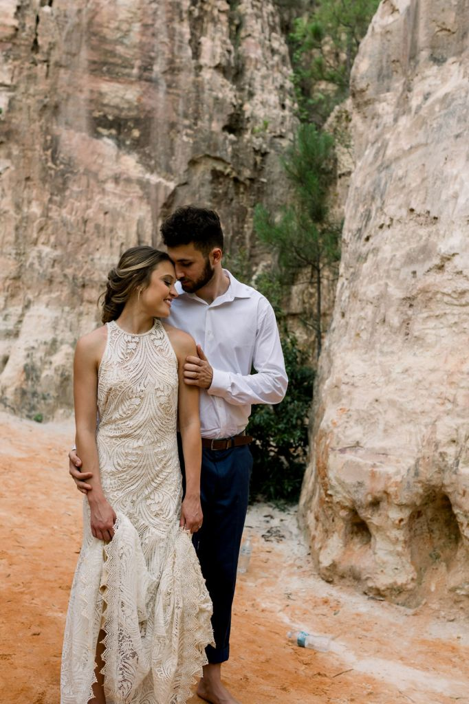 Providence Canyon styled shoot