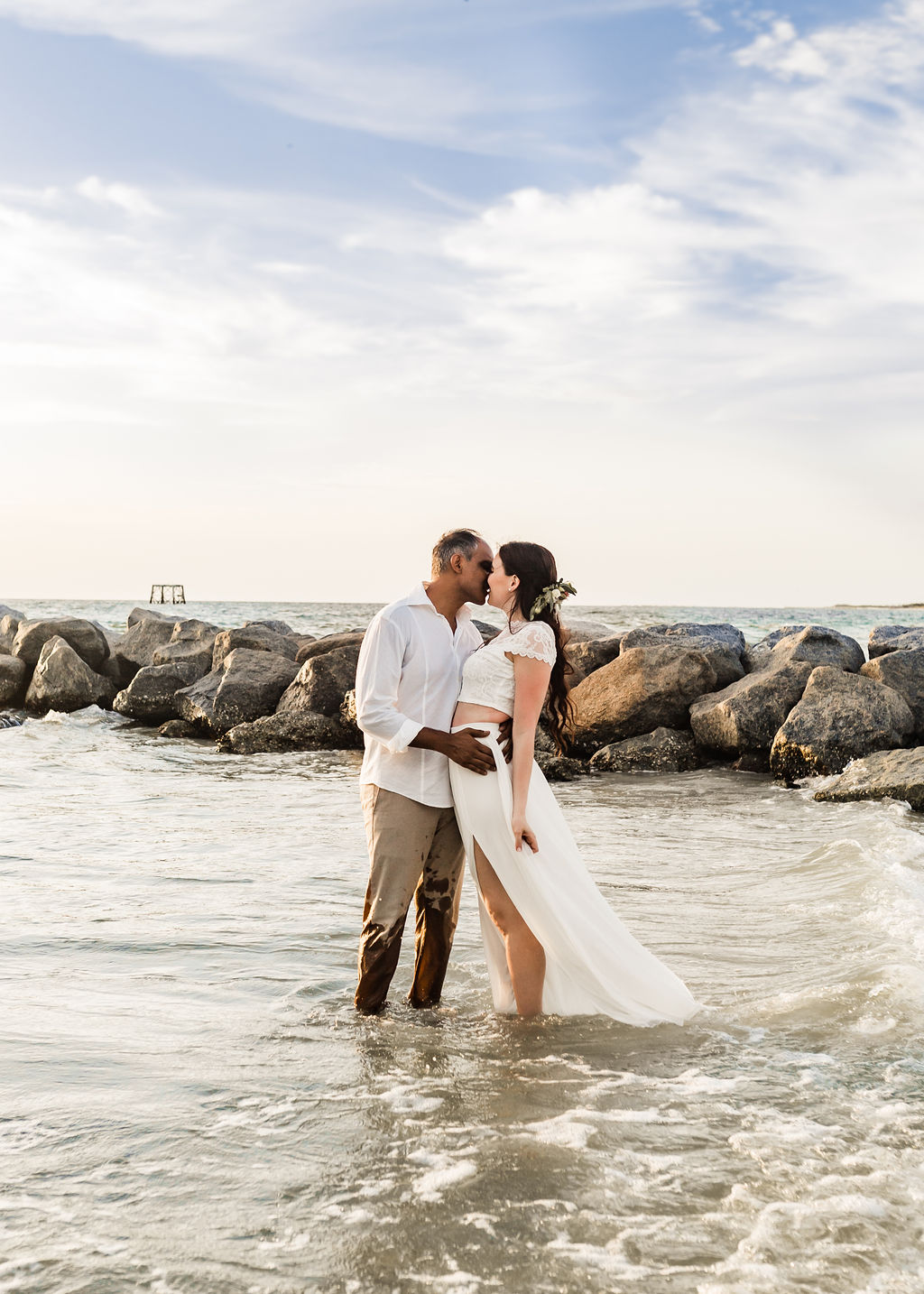 Tampa Bay Styled Shoot styled elopement