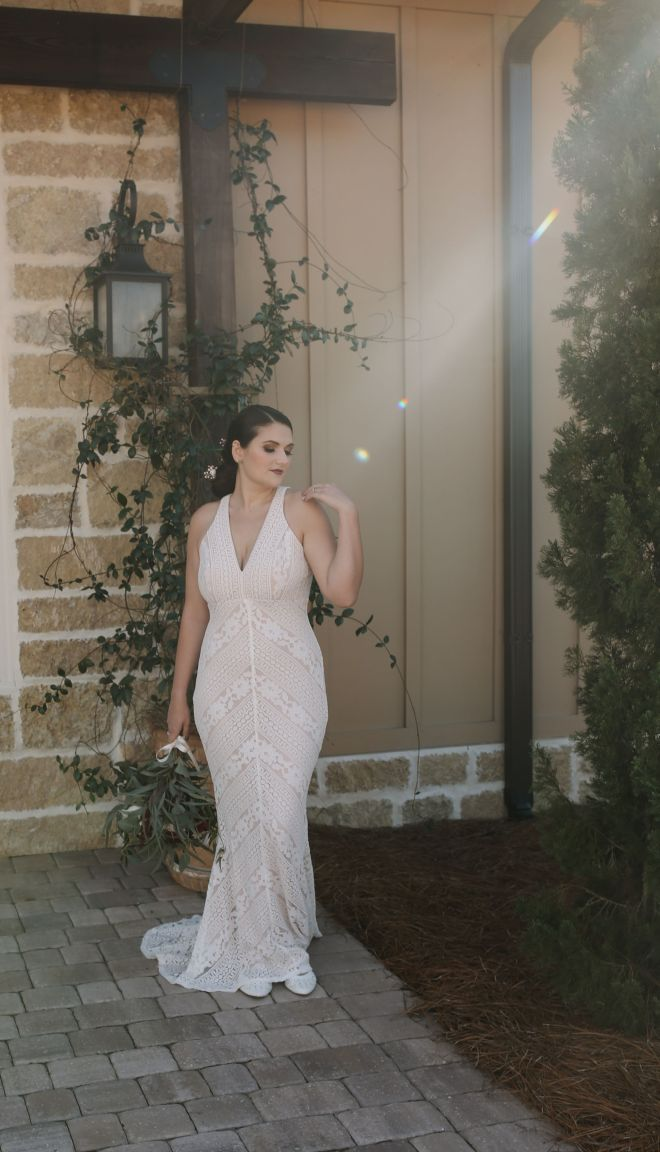 Styled Wedding Dress Rental