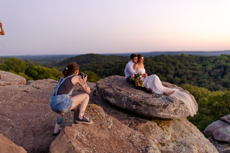 Wedding photography workshop bts