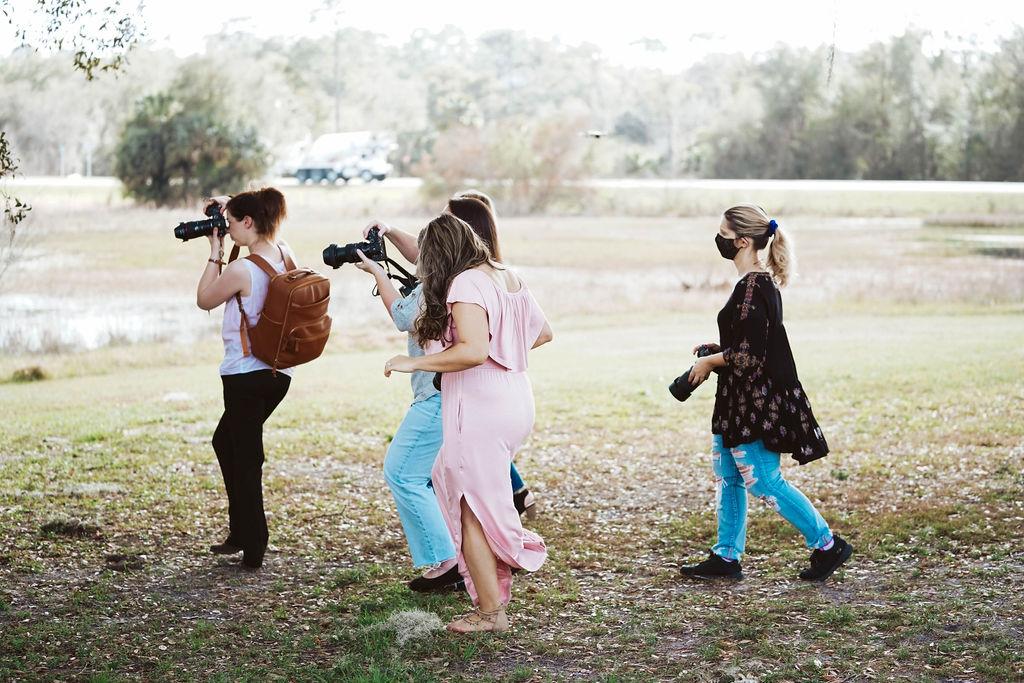 Wedding photography marketing events