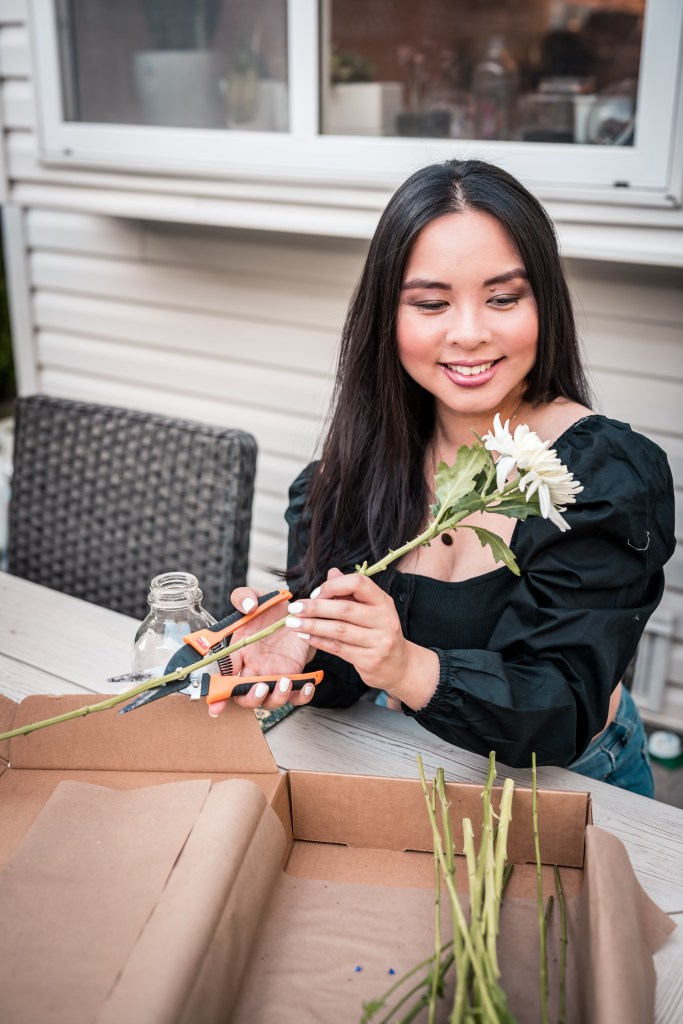 Glamouraspirit with cutting flowers by Bear's Blooms in Vancouver