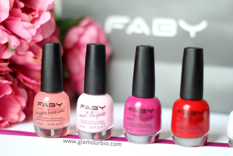 Oxigen Base Coat - Ciao Bella - Imagine - Faby's Red