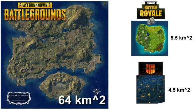 Image result for COD VS pUBG MAP