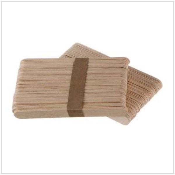 Waxing Spatula Wooden Large 50pc