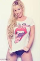 Glamour Model Magazine featured model Shani Hollywood