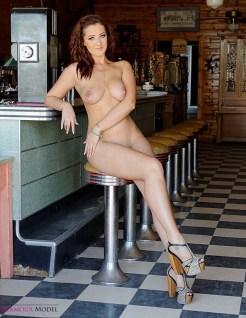 KayJay traveling model nude