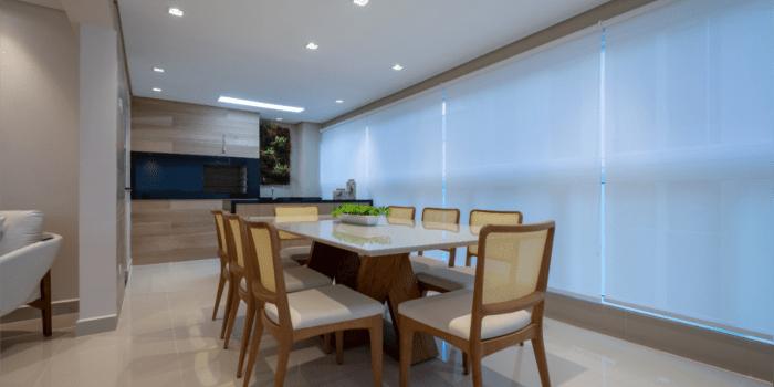 Área Gourmet do apartamento merece móveis sob medida