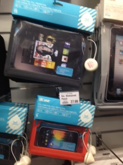 Great waterproof case for your iPad, Kindle, tablet or phone