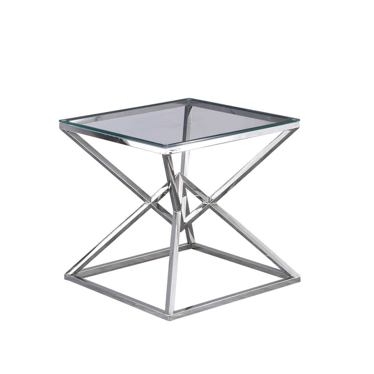 Amsterdam Silver Side Table