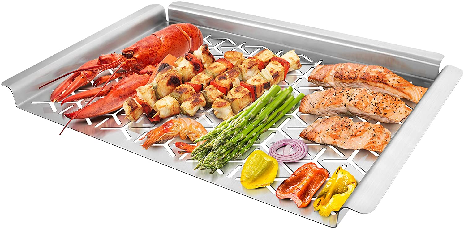 Unicook Stainless Steel Grill Topper