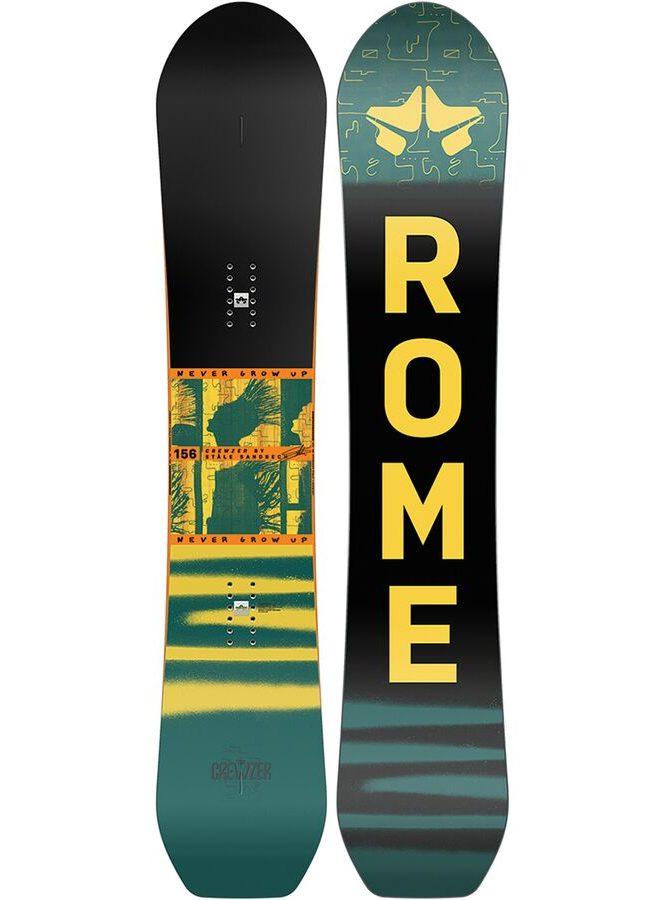 Rome Stale Crewzer Snowboard + Bindings
