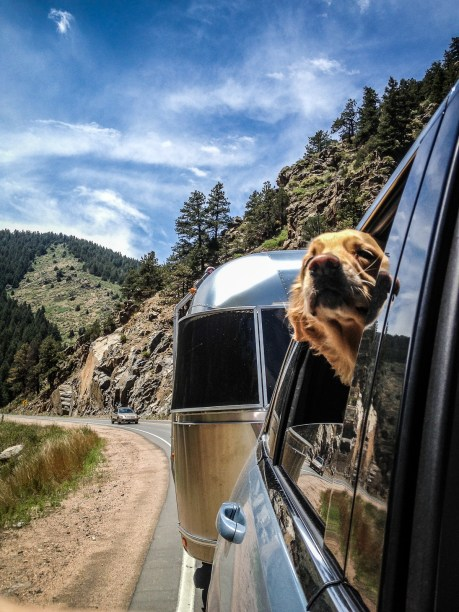 Beautiful spring day heading home, Clear Creek Canyon, CO.
