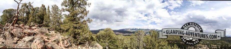 Grouse Mountain Overlook Mueller SP, CO.