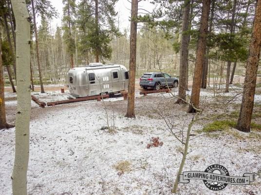 Campsite at Kenosha Pass, CO
