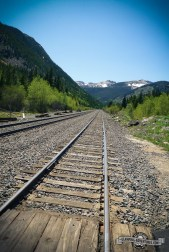 Tracks at the Moffat Tunnel