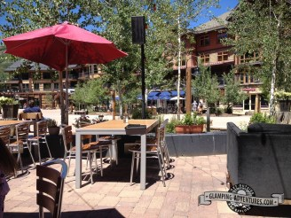 Downtown Snowmass, Base Camp Bar & Grill.