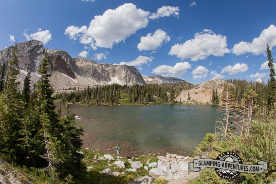 Lake Marie—what a wonderful place to spend a day!