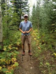 Hiking Gold Hill Trail. Steamboat, CO.