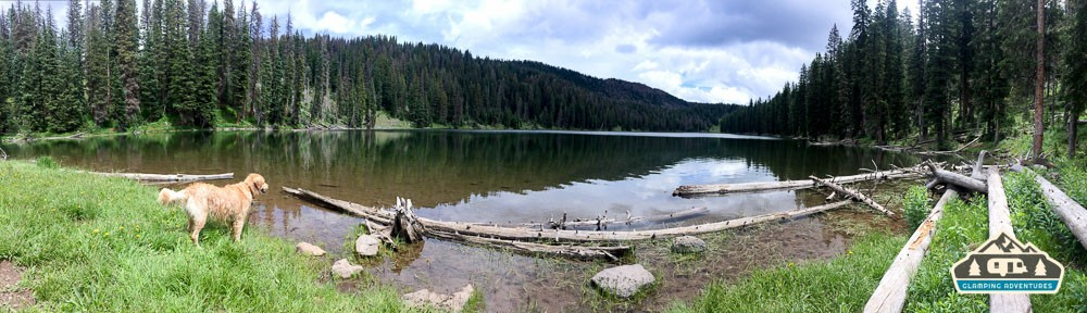 Forest Lake. Grand Mesa CO.