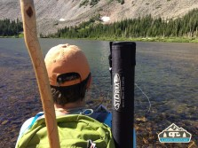 I love hiking up to the alpine lakes to throw some line. Mitchell Lake.