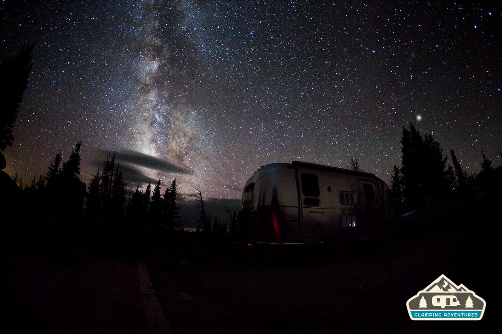Under the stars. Sugerloaf Campground, WY.