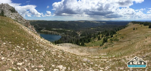 Lake Marie from above.