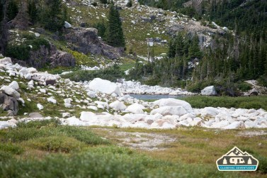 On the way to South Gap Lake, WY.