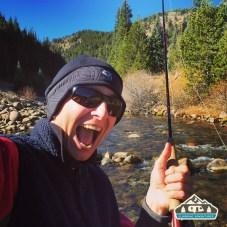 Loving life! Boulder Creek, CO.