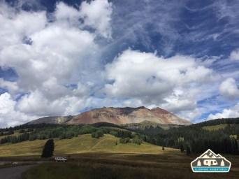 Beautiful scenery while hiking Kilpacker Trail.