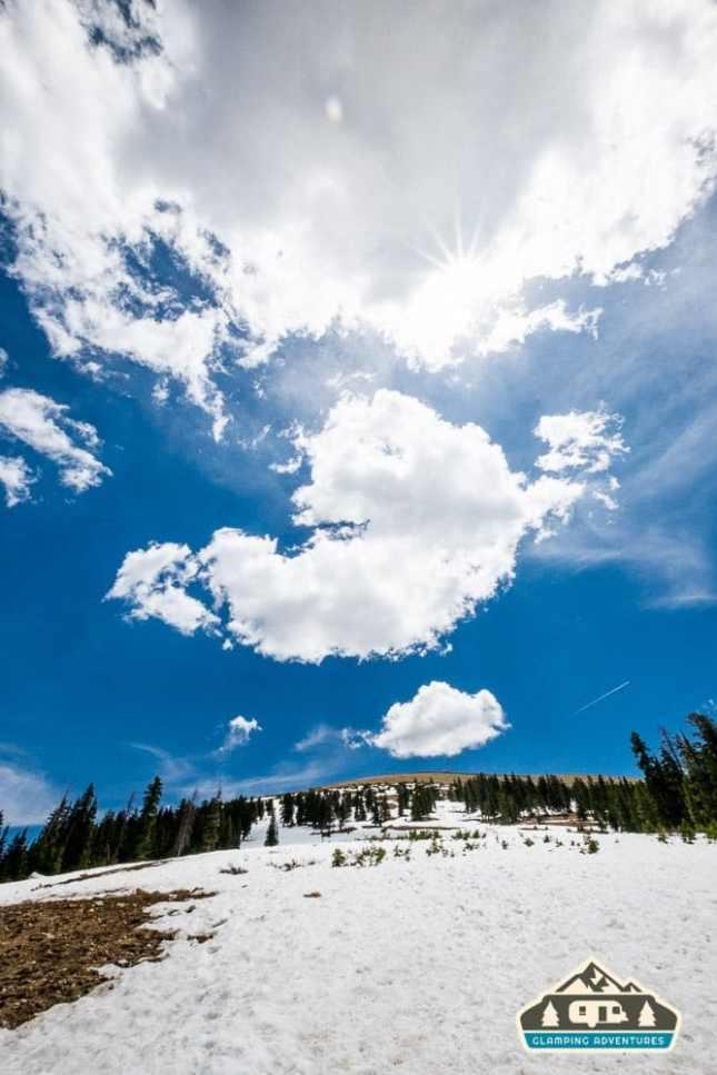 The top of Berthoud Pass, CO.
