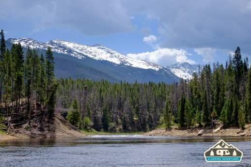 CO River near Arapaho Bay, CO.