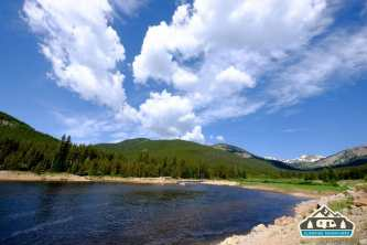 Inlet at the day use area near the May Queen C.G. Turquoise Lake, Leadville, CO.
