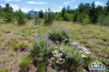 Campsite. Heaton Bay C.G., Colorado.
