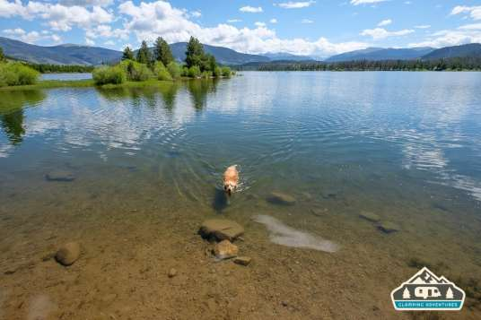 Perfect place for swimming. Heaton Bay C.G., Colorado.