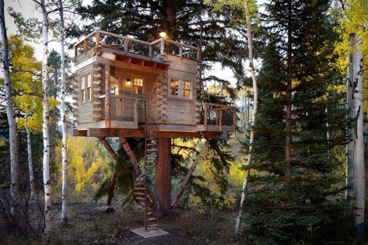 Treehouse Cabin in CO -hiconsumption