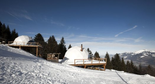 Whitepod's Dome Glamping
