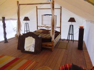 Safari lodge intérieur